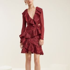 C/MEO Collective Ruby Ember Long Sleeve Dress